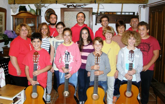 Započeo je drugi termin Ljetne škole gitare Koprivnica 2014.