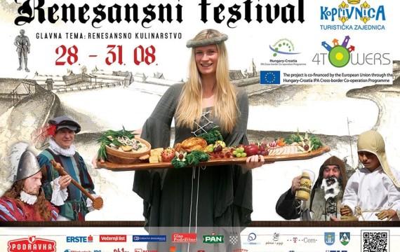 Renesansni festival 28.-31. kolovoza 2014. Program događanja