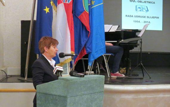 Udruga slijepih Koprivničko-križevačke županije proslavila veliki jubilej