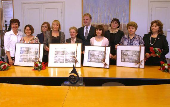 Prijem za najbolje učitelje izabrane za školsku godinu 2013./2014.