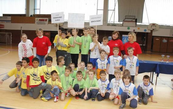 Iskrena dječja radost i zdrav pobjednički duh obilježili Školski olimpijski festival