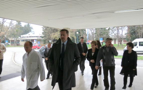 Ministar Siniša Varga u radnom posjetu Općoj bolnici dr. Tomislav Bardek
