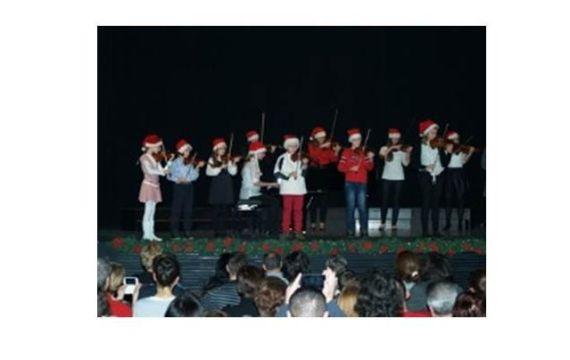 Božićni koncert Umjetničke škole Fortunat Pintarić