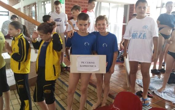 Novi uspjesi Plivačkog kluba Cerine