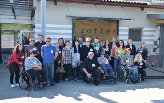"""Članovi Udruge  osoba s invaliditetom """"Bolje sutra"""" u Austriji"""