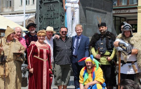 Koprivnički Renesansni festival obogatio zagrebački Markov sajam