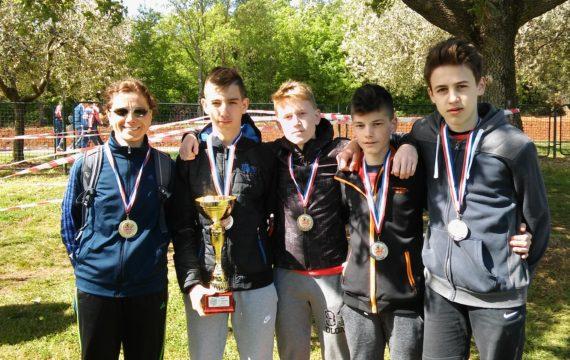 Nemčići osvojili srebro na Završnici Državnog prvenstva u krosu