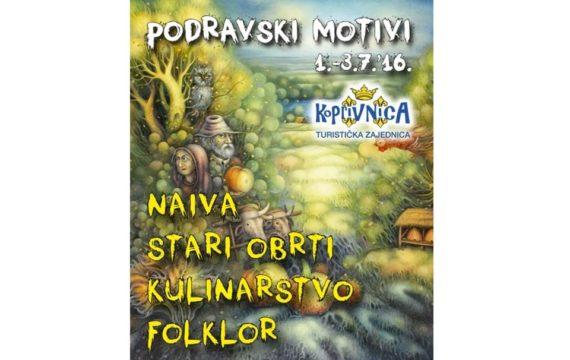 PROGRAM 22.PODRAVSKIH MOTIVA, 01. – 03. srpnja