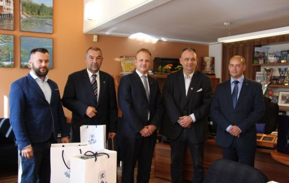 Signed Cooperation Agreement and the establishment of friendly relations between the City of Koprivnica and the City of Heviz