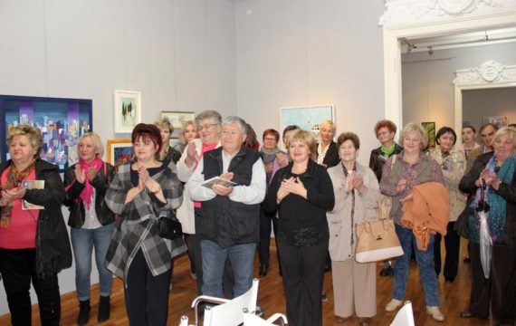 In Koprivnica was open exhibition of 32nd Meeting of visual artists