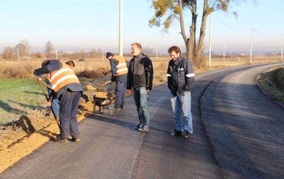 Radovi na uređenju prometnice u dijelu Koprivničke ulice u Bakovčicama