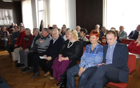 """Held annual meeting of Old timer club """"Biciklin"""""""