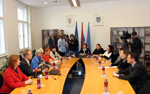 Representatives of the Ministry of Finance from Albania visited City of Koprivnica