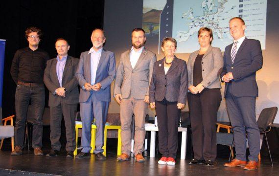 Koprivnicu posjetili europarlamentarci Michael Cramer i Davor Škrlec