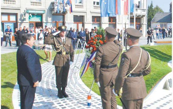Obilježavanje 26. obljetnice preuzimanja Vojarne u Koprivnici i Dana koprivničkih branitelja