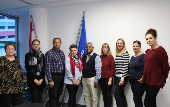 """Predstavnici Udruge Roma """"Korak po korak"""" i Knjižnice """"Fran Galović"""" na edukaciji partnerskih organizacija UNICEF-a za potrebe prijave na natječaj za sufinanciranje projekata u okviru Švicarskog financijskog instrumenta"""