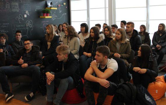 Poduzetnički inkubator posjetilo 80 koprivničkih srednjoškolaca!