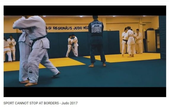 Video // Projekt SportOverBorders // Judo trening kamp u Zalaegerszegu