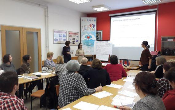 Održana edukacija 'Razvijanje socijalnih i komunikacijskih vještina volontera'