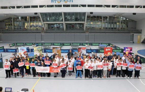 Održava se 7. Prvenstvo Hrvatske u stolnom tenisu za osobe s intelektualnim teškoćama