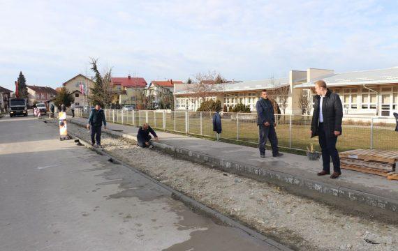 U Hercegovačkoj ulici uređuju se nova parkirališna mjesta