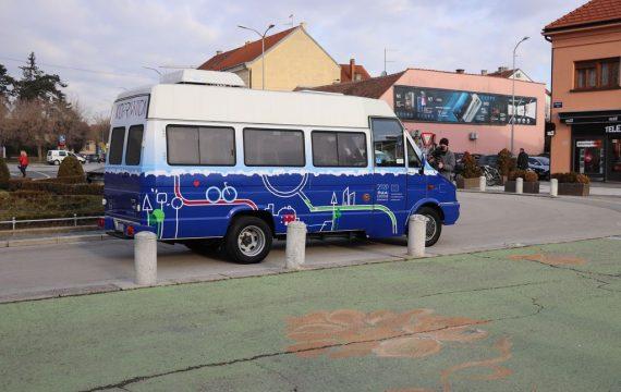 """Gradonačelnik Jakšić na promociji nove linije Buska: """" Prije 10-ak godina bilo je apsolutno nemoguće zamisliti i provesti projekt besplatnog javnog prijevoza, a danas uvodimo nove linije."""""""