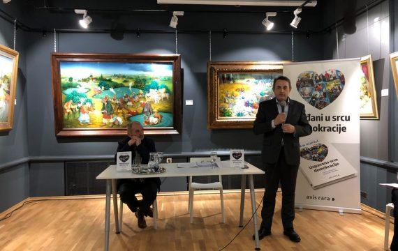 """Predstavljenja knjiga prof. dr. sc. Ivana Koprića """"USPAVANO SRCE DEMOKRACIJE"""" – Lokalna samouprava za građane i zajednicu"""