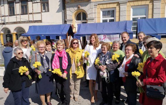 23. Dan narcisa – Žuti cvjetovi preplavili Zrinski trg