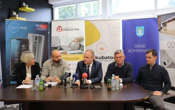 Potpisani ugovori između Grada Koprivnice i tvrtki Hangar 18 d.o.o. i Labor d.o.o. za opremanje Inkubatora kreativnih industrija vrijednih preko milijun kuna
