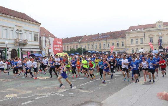 Tristotinjak trkača nastupilo na premijernom 1. Koprivničkom polumaratonu