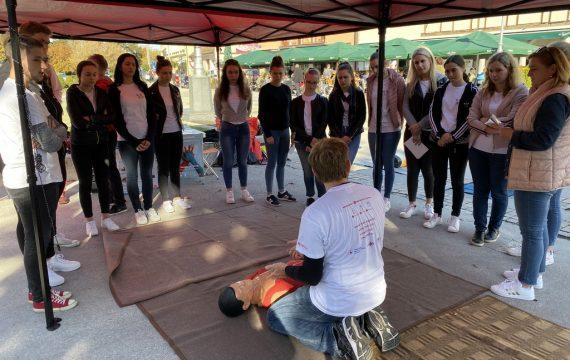 U centru Koprivnice obilježen Svjetski dan oživljavanja