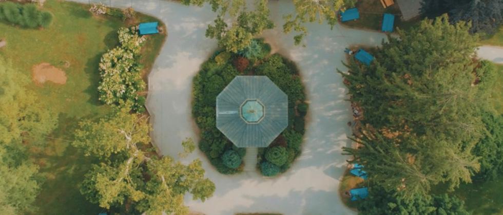 Koprivnički paviljon u parku