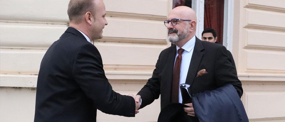 Gradonačelnik Jakšić i veleposlanik Izraela Ilan Mor