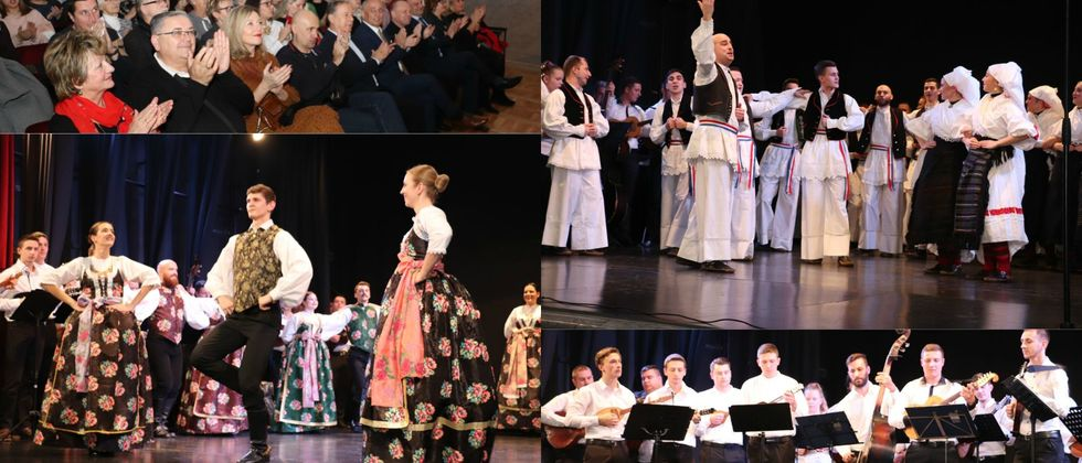 Završni koncert Zimske škole folklora 2020.