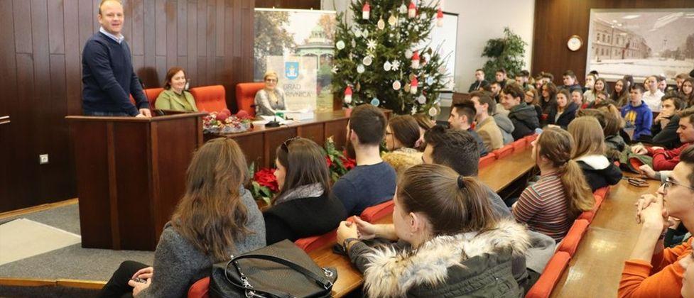 Podjela ugovora o stipendiranju studentima s područja grada Koprivnice