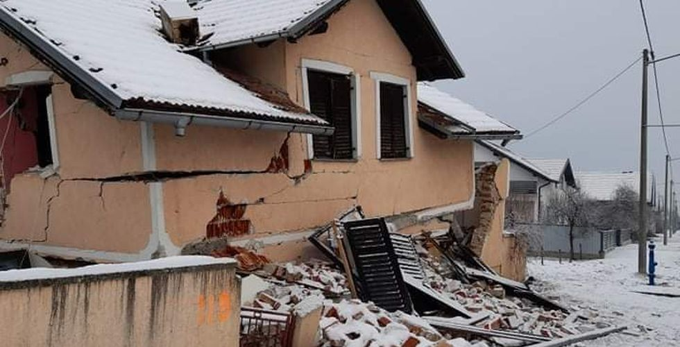Ilustracija potres