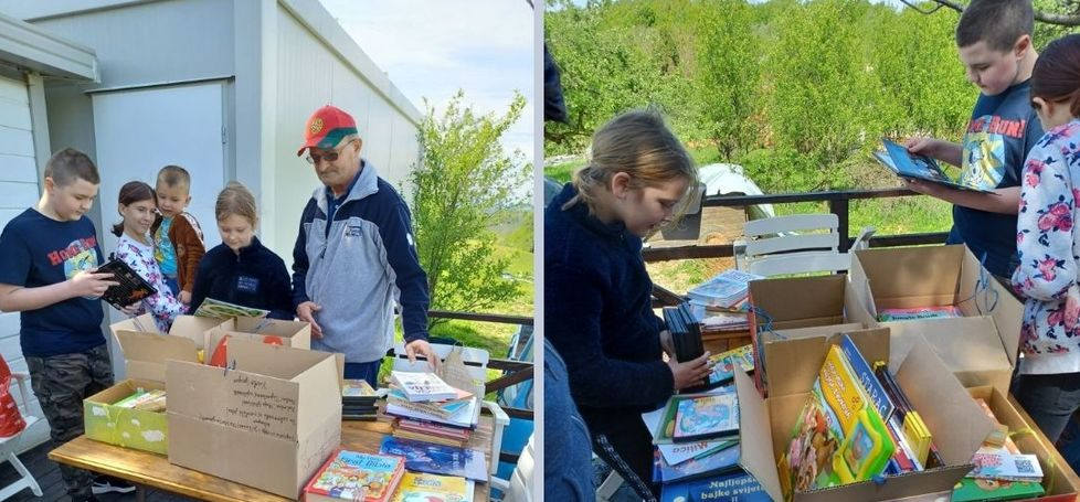 Donacija knjiga Knjižnica